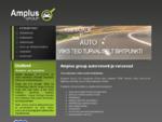 Amplus group OÜ - Autode remont, hooldus, diagnostika, varuosad - Võru linn, Tallinna mnt 46b
