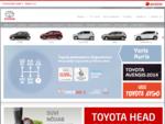 Toyota - Amserv | Toyota müük, teenindus, varuosad