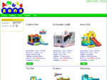Amuse Zone - Catalog of inflatable bouncy castles and slides. Tables and chairs.