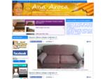Fundas a medida para sofas, sillones, sillas, butacas, poufs. Modista en Valencia. Ana Aroca