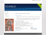 Home - Byzantinische Musik und Kirchengesangskunst