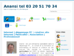 Anansi création de site web 2. 0 - Anansi, informatique, internet, dépannage PC, création site ...