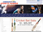 Home page | Shop Online at Anderson and Hill Sportspower for Sportswear, sports clothing and spor
