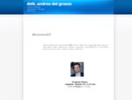 Dott. Andrea Del Grasso - Urologo e Andrologo