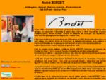 Andreacute; BORDET KIMO Abstrait, Peinture Abstraite, Peintre Abstrait, Art Singulier, Peintre