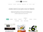 Diseño gráfico en Tenerife, desarrollo web, publicidad Andrés Morales