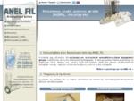 Anel Fil - σακκόφιλτρα, κλωβοί βιομηχανικών φίλτρων, φυσούνες φόρτωσης, ταινίες μεταφοράς, ...