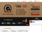 Wagga web design - Angry Ant (Wagga web designer)