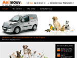 Taxi animalier Ile de France transport animaux - Animouv
