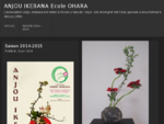 ANJOU IKEBANA Ecole OHARA | L039;association Anjou Ikebana est reliée à l039;école Ohara d