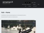annamari. fi | Henkilökohtainen sivustoni