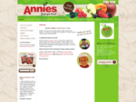 Annies - Home - Natural Fruit Leather, No Additives