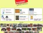 Plastové okná, garážové brány, plastové a hliníkové dvere, žalúzie | ANPLAST