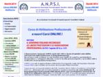 ANPSI - Associazione Nazionale Pranoterapeuti Sensitivi Italiani