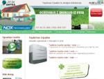 Ogrevanje s toplotnimi črpalkami in strojne inštalacije ter ogrevanje na plin, klimatizacija
