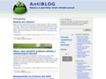 antiBLOG gt; Názory mimo střední proud