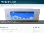 Antifurto casa - Il miglior antifurto con display TouchScreen
