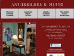 Antiikkiliike R. Muuri Annankatu 11, 00120 HELSINKI