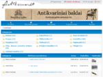 Antikvaras. lt - antikvaras, antikvariatas - skelbimai
