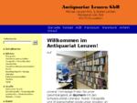 Antiquariat Lenzen GbR Startseite