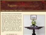 French Polishing Furniture restoration