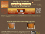 Antique Furniture Imports Restoration