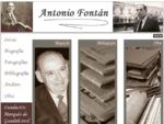 Antonio Fontan, Fundacion Marques Guadalcanal