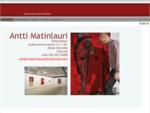 Taidemaalari Antti Matinlauri