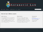 Antunović Law Criminal Lawyers Wellington