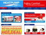 HEAT PUMP INSTALLATION FUJITSU HEAT PUMPS PRICES AUCKLAND NEW ZEALAND
