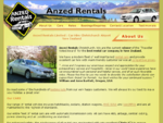 Car Rental Hire Christchurch Airport New Zealand Anzed Rentals