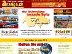 Anzeige. ch - gratis inserate, gratis anzeigen, kleinanzeigen, die schweizer inserate-webseite
