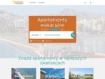 Apartament na wakacje, mieszkanie nad morzem, dom w górach - apartamentywakacyjne. pl