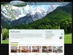 Domov - Apartmaji Bor - Kranjska Gora in Gozd Martuljek