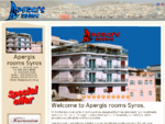 Apergis Rooms | Syros Island rooms | SYROS ACCOMODATION | SYROS HOTELS | SYROS GREECE | SYROS ROOMS ...