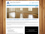Floor sanding Windsor - Apex Floor Sanding will get your floor looking and staying new