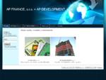 www. apfinance. sk, uvery, hypoteky, uver, hypoteka, www. apdevelopment. sk AP FINANCE, s. r. o.