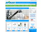 Fournitures plomberie Apiman, accessoires de plomberie et robinetterie autour du lavabo, pour cui