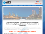 Commercial Locksmith | 24 hr Emergency Locksmith | API