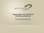 Welcome to Apostrophe Canada Outlet Store