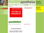 Willkommen - Mühlen-Apotheke, Neumünster