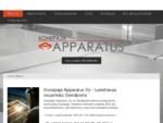 Metallisäiliöt, konepaja | Seinäjoki | Konepaja Apparatus Oy