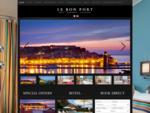 Accueil - Hà´tel le Bon Port à Collioure | Votre hà´tel 2 étoiles à Collioure