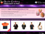 Clothing store | Apple Clothing Embroidery and Print | clothing catalogue