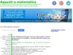 appunti e matematica, tecniche risolutive, esercizi e problemi risolti