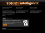 Aptual Intelligence