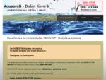 Aquaprofi - vodoinštalatér, vodár, inštalatér, servis, NON-STOP poruchová služba Bratislava