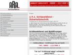 A. R. A. Schlüsseldienst Der Schlossnotdienst und Aufsperrdienst A. R. A. Schlüsseldienst ...