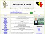 Arbeidsrechtbank - Arbeidsrechtbanken Belgie - contact - route - adres