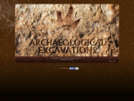 Archaeological Excavations specialises in earthmoving, excavations and sieving of archaeological an